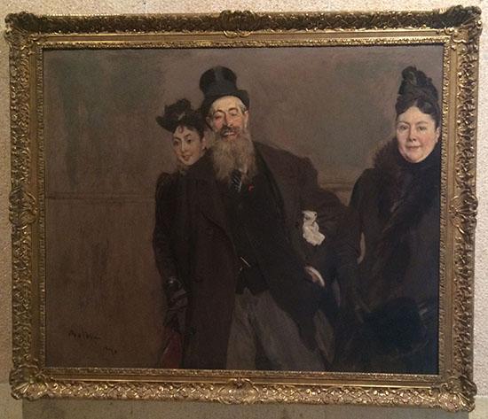 ג'והן לואיס בראון עם האישה והבת!