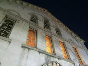 חזית מבנה בית הכנסת