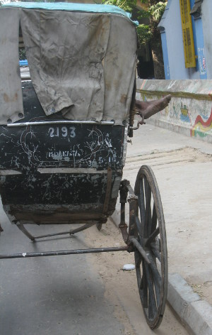 Pulled-Rickshaw