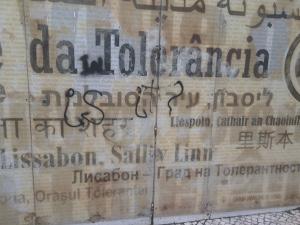 Lisbon-Tolerancia