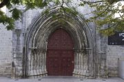 External-Door-Of-Convento-Do-Carmo-Lisbon