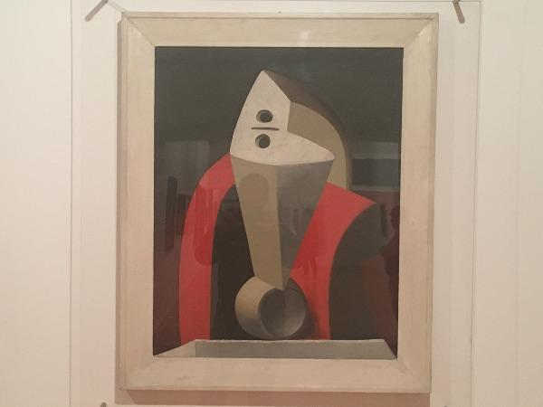 פבלו פיקאסו - אישה על כורסה (1929)