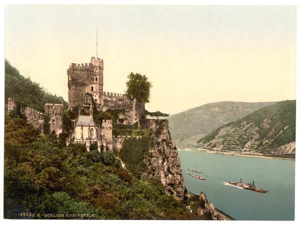 טירת Rheinstein, גדות נהר הריין גרמניה