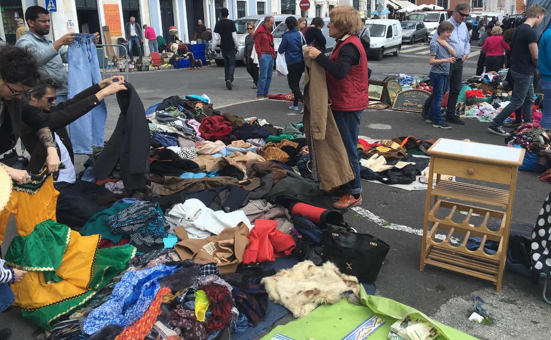שוק הפשפשים של ליסבון (Feira da Ladra)