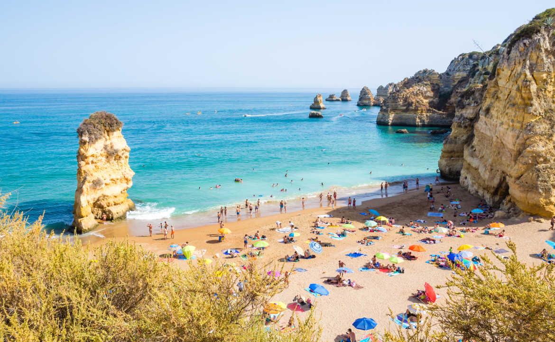 חופי ים ורחצה ומקורות מים בפורטוגל