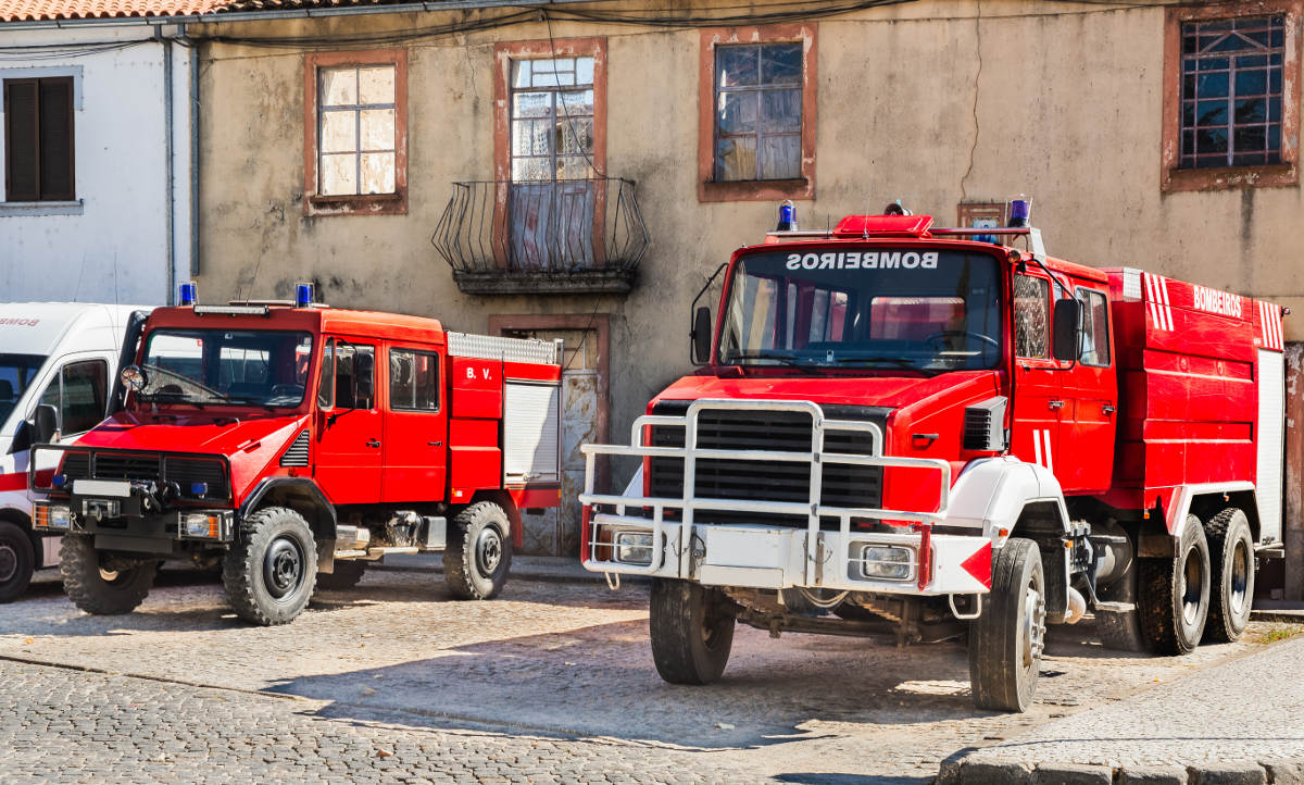 שריפות בפורטוגל